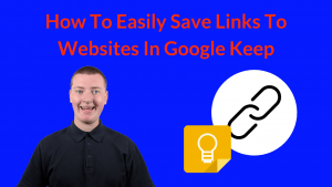 How To Easily Save Links To Websites In Google Keep
