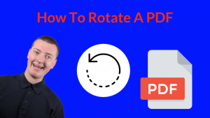How To Rotate A PDF